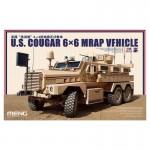 Maquette Véhicule Militaire : US Cougar 6x6 Mrap
