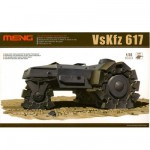 Maquette Véhicule militaire : VsKfz 617 Minenräumer