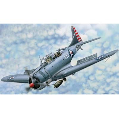 Maquette avion : Douglas SBD-3 Dauntless 1942 - Merit-61801