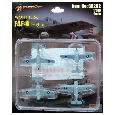 Maquette Avions Militaires : F4F-4 Wildcat - Merit-68202