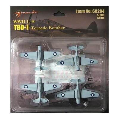 Maquette Avions Militaires : TBD-1 Devastator - Merit-68204