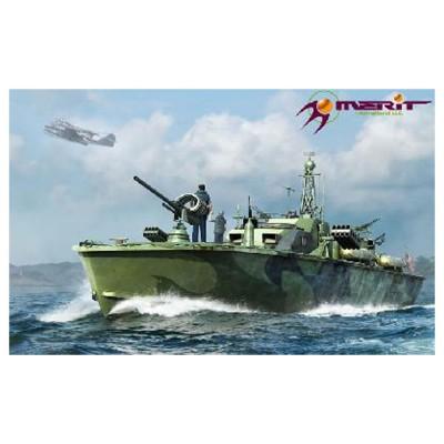 Maquette bateau : Vedette lance torpille US Navy Elco 80' 1944/1945 - Merit-64801