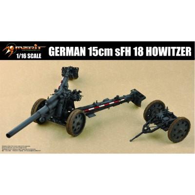 Maquette Canon allemand 15 cm S.F.H. 18 Howitzer - Merit-61603