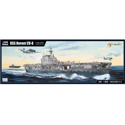 Maquette Porte-avions US CV-8 USS Hornet 1942 - Merit-62001