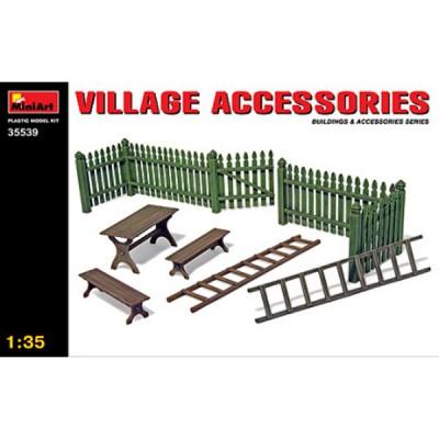 Décor de guerre 1/35: Accessoires de village - MiniArt-35539