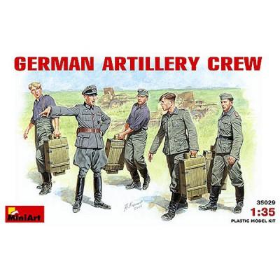 Figurines 2ème Guerre Mondiale : Artilleurs allemands 1941-1943 - MiniArt-35029