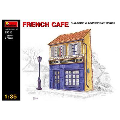 Maquette Ruines de guerre: Café français 1940-1945 - MiniArt-35513