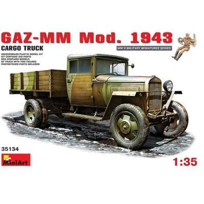 Maquette Camion GAZ-MM Modèle 1943 avec figurines - MiniArt-35134