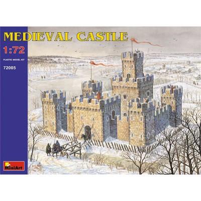 Maquette Château fort médiéval - MiniArt-72005