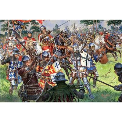Figurines médiévales: Chevaliers allemands XVème siècle - MiniArt-72011