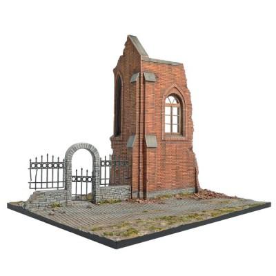 Diorama 1/35 : Eglise en ruine - MiniArt-36030