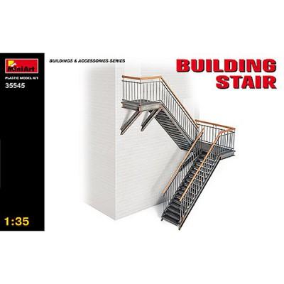 Décor de guerre 1/35: Escalier tournant métallique - MiniArt-35545