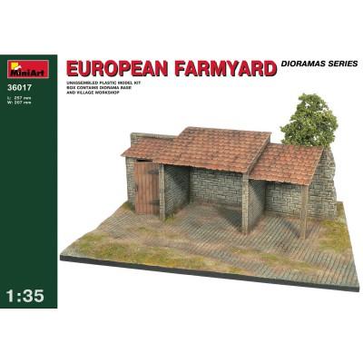 Diorama 1/35: Abri de ferme européenne - MiniArt-36017