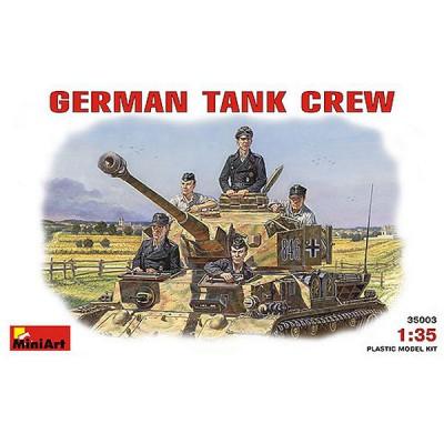 Figurines 2ème Guerre Mondiale : Equipage Panzer 1941-1945 - MiniArt-35003