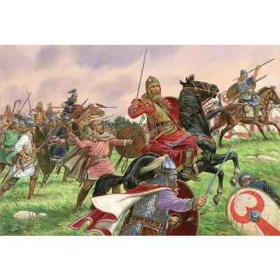 Figurines Guerriers germains IV-Vème siècle ap. JC - MiniArt-72013