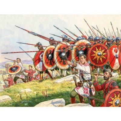 Figurines Infanterie romaine IV-Vème siècles ap. JC - MiniArt-72012