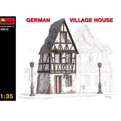 Maquette Ruines de guerre: Maison de village allemand - MiniArt-35012