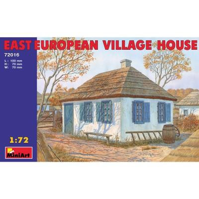 Diorama 1/72 : Maison de village de type Europe de l'Est - MiniArt-72016