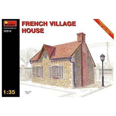 Maquette Ruines de guerre: Maison de village français 1944 - MiniArt-35510