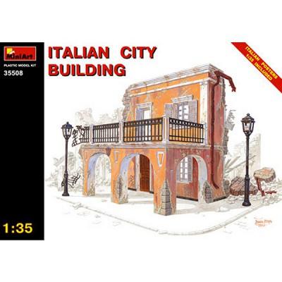 Maquette Ruines de guerre: Maison de ville italienne 1943-1945 - MiniArt-35508