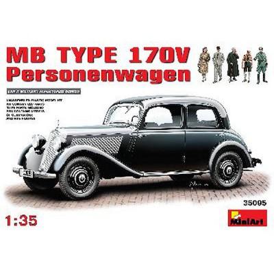 Maquette Mercedes Benz Type 170 V Personewagen - MiniArt-3595