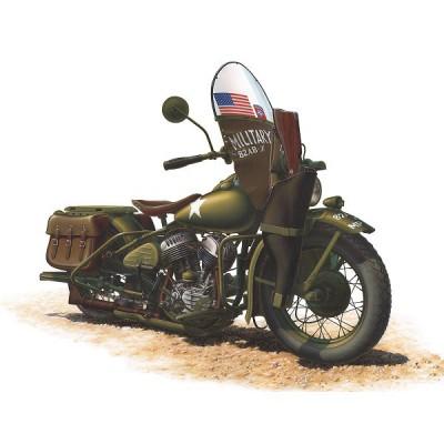 Maquette Moto US WLA Harley Davidson - MiniArt-35080
