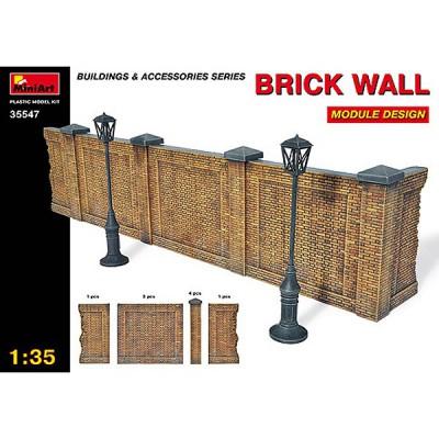 Maquette Mur en briques - MiniArt-35547