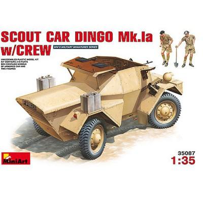 Maquette Scout car DINGO Mk.1a - MiniArt-35087