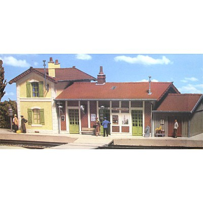 Modélisme ferroviaire HO : Gare de Fay-aux-Loges - MKD-MK500