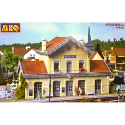 Modélisme ferroviaire HO : Gare de Beaulieu - MKD-MK8016