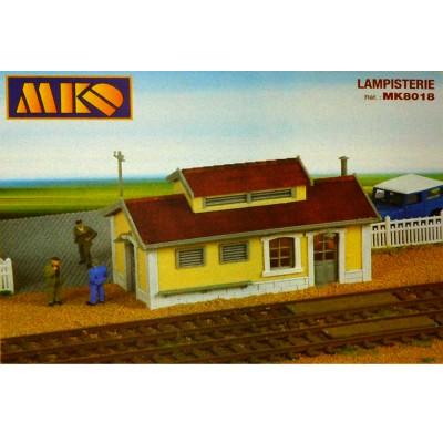 Modélisme ferroviaire HO : Lampisterie - MKD-MK8018
