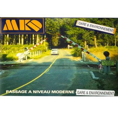 Modélisme ferroviaire HO : Passage à niveau moderne - MKD-MK532