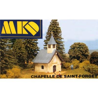 Modélisme HO : Le village français : Chapelle de Saint-Forget - MKD-MK680