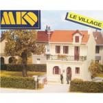 Modélisme HO : Le village français : Maison du notaire