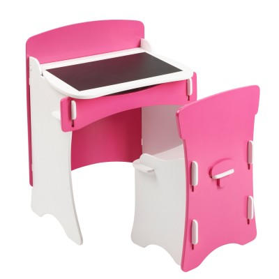 bureau maternelle rose jeux et jouets mobilio8 avenue des jeux. Black Bedroom Furniture Sets. Home Design Ideas