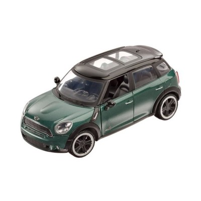 mod le r duit voiture citadine 1 24 mini cooper s countryman verte mondo magasin de jouets. Black Bedroom Furniture Sets. Home Design Ideas