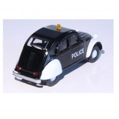 Modèle réduit de voiture Vintage : Police Citroën 2CV