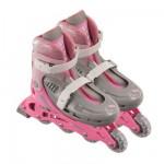 Rollers en ligne ajustables pointure 30/33 : Hello Kitty