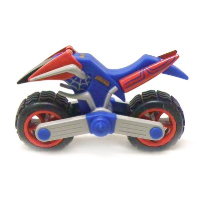 V hicule spiderman en m tal moto spider man mondo 53160 3 - Jeux spiderman moto ...