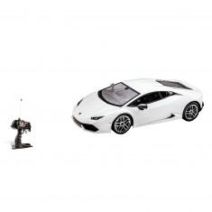 Voiture radiocommandée : Lamborghini Hurican blanche