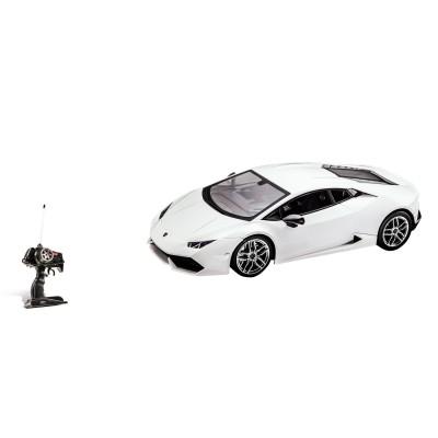 Voiture radiocommandée : Lamborghini Hurican blanche - Mondo-63348-Blanc