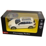 Voiture radiocommandée : Porsche Cayenne Turbo blanche