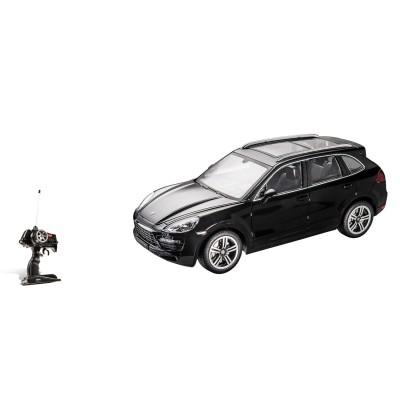 Voiture radiocommandée : Porsche Cayenne Turbo noire - Mondo-63350-Noir
