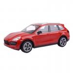 Voiture radiocommandée : Porsche Cayenne Turbo rouge