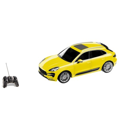 voiture radiocommand e porsche macan turbo jaune jeux et jouets mondo avenue des jeux. Black Bedroom Furniture Sets. Home Design Ideas