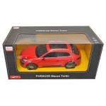 Voiture radiocommandée : Porsche Macan Turbo rouge