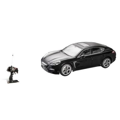 Voiture radiocommandée : Porsche Panamera turbo S noire - Mondo-63351-Noir
