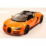 Voiture radiocommandée  1/14 : Bugatti Grand Sport vitesse Orange