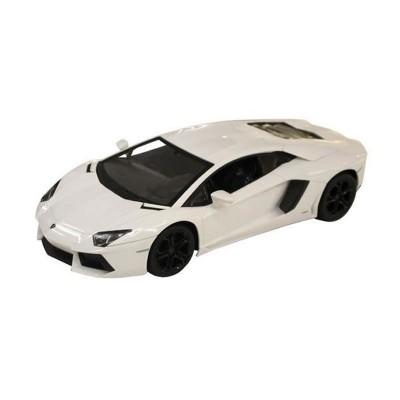 Voiture radiocommandée  1/14 : Lamborghini Aventador LP700-4 blanche - Mondo-63129-Blanc