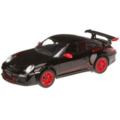 Voiture radiocommandée  1/14 : Porsche GT3 Noire - Mondo-63128-Noir